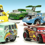 Disney / Pixar CARS Movie Exclusive 1:43 Die Cast Car 5-Pack