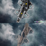 The SHIELD Helicarrier 76042-film-compare