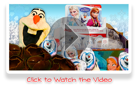 Disney Frozen Surprise Eggs Olaf