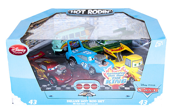 Disney / Pixar CARS Movie Exclusive 1:43 Die Cast Car 5-Pack Box