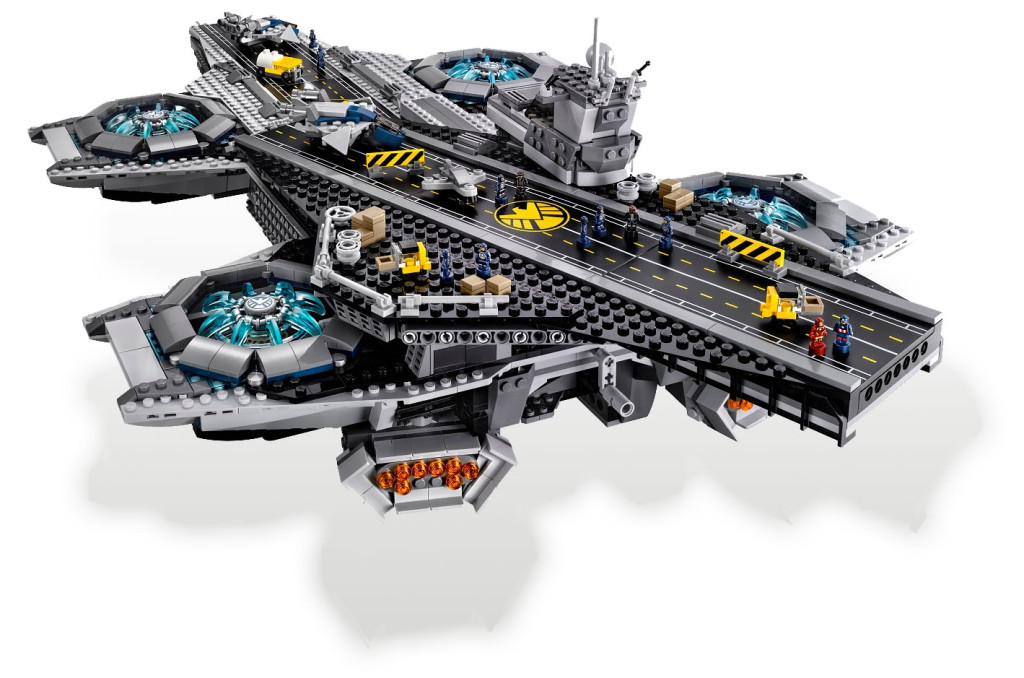The S.H.I.E.L.D. Helicarrier - LEGO Marvel Super Heroes