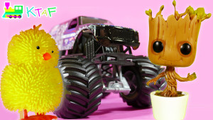 Kid Toys - Groot from Guardians of the Galaxy, Talking Olaf Toy, Hot Wheels, Big Yellow Chic