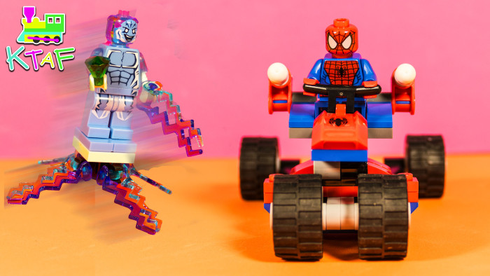 LEGO Spider-Man Trike Build Review & Play - LEGO Super Heroes 76014