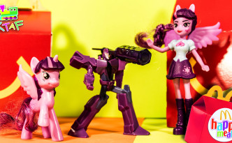 Transformers, My Little Pony Happy Meals Toys