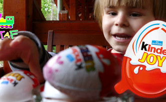 Kinder Joy eggs and Kinder Surprises in Sovata