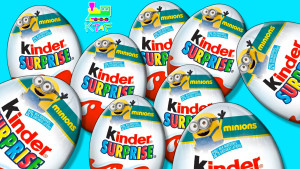 Kinder Minions Surprise Eggs