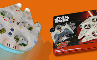 Flying Star Wars Millennium Falcon by Air Hogs - Kid Toys Are Fun