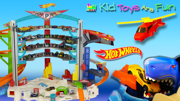 Hot Wheels Ultimate Garage Video Play and Review