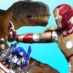 Scary Dinosaurs, The Hulk, Iron Man and Fun at the PNE Vancouver