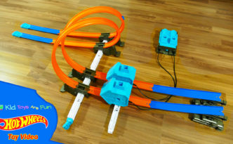 Hot Wheels Power Booster Kit Track Builder System